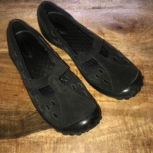 Privo by Clarks black slip on shoes 9 flats